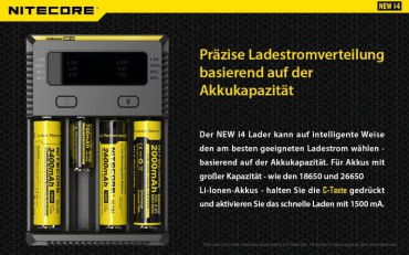 NiteCore Intellicharge NEW i4 – Bild 5