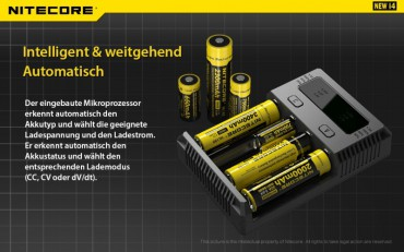 NiteCore Intellicharge NEW i4 – Bild 3