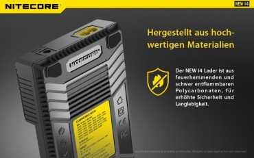 NiteCore Intellicharge NEW i4 – Bild 8