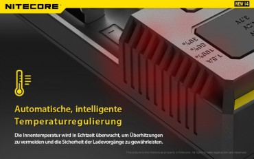 NiteCore Intellicharge NEW i4 – Bild 7