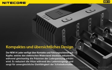 NiteCore Intellicharge NEW i4 – Bild 9