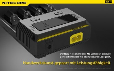 NiteCore Intellicharge NEW i4 – Bild 10