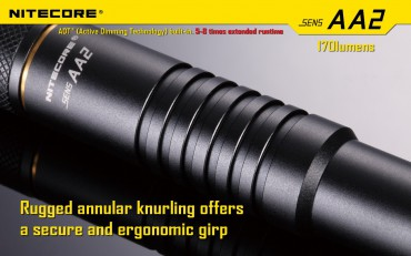 Nitecore SENS AA2 active dimming technology – Bild 7
