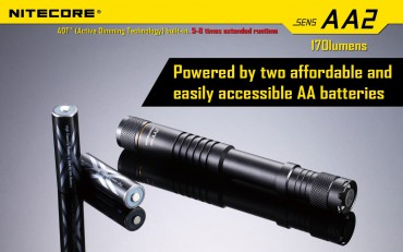 Nitecore SENS AA2 active dimming technology – Bild 9