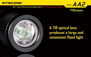 Nitecore SENS AA2 active dimming technology – Bild 5